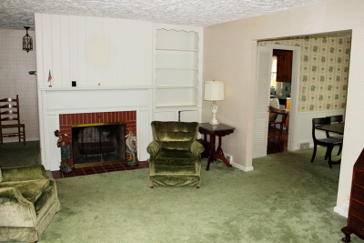 Living Room to Dining Room