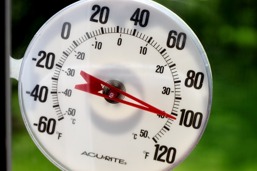 Brockport Reaches 100 Degrees!