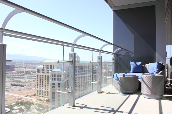 Cosmopolitan Balcony