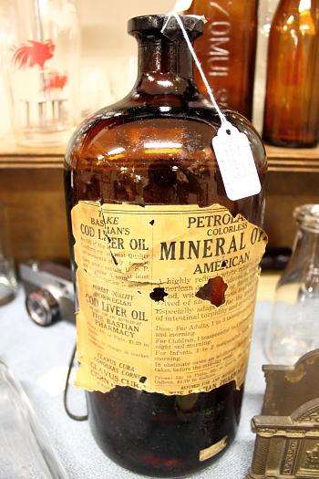 Cod Liver Oil bottle