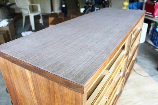 Project  Refinishing a *Thinly* Veneered Dresser  Bunches of Joy