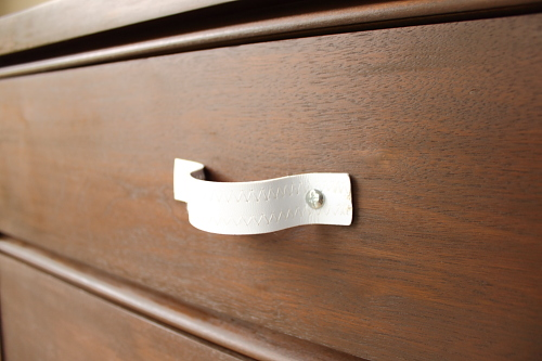 Project 2: Leather Drawer Pulls (5/6)