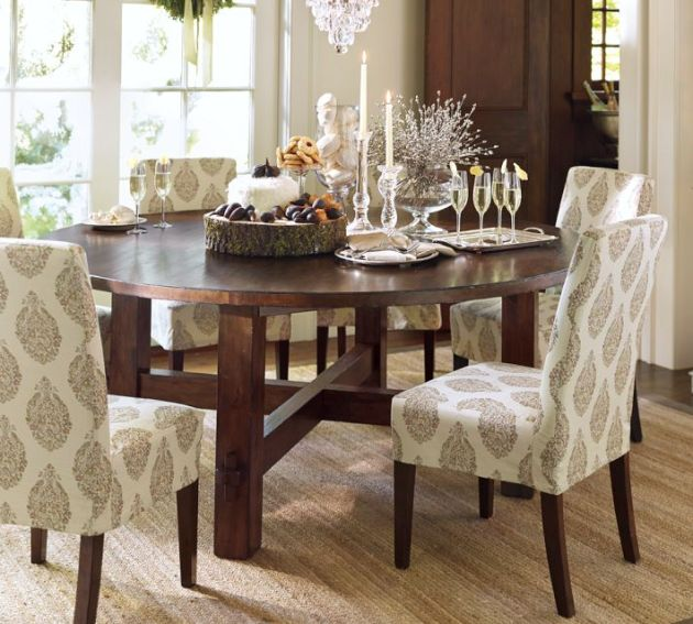 Dining Room Tables Pottery Barn: Dining Table: Pottery Barn Round Dining Table